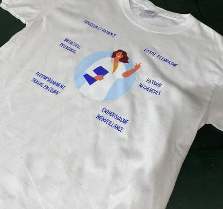 Flocage Couleur sur Tee Shirt