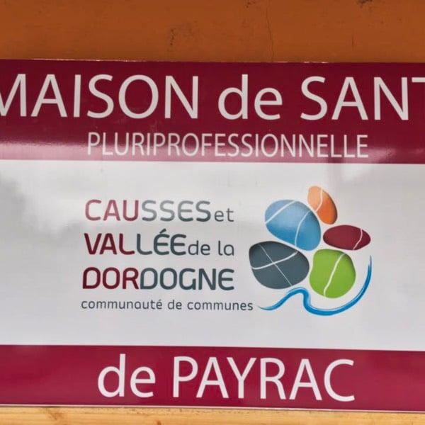 Panneau d'enseigne Maison de Santé Cauvaldor