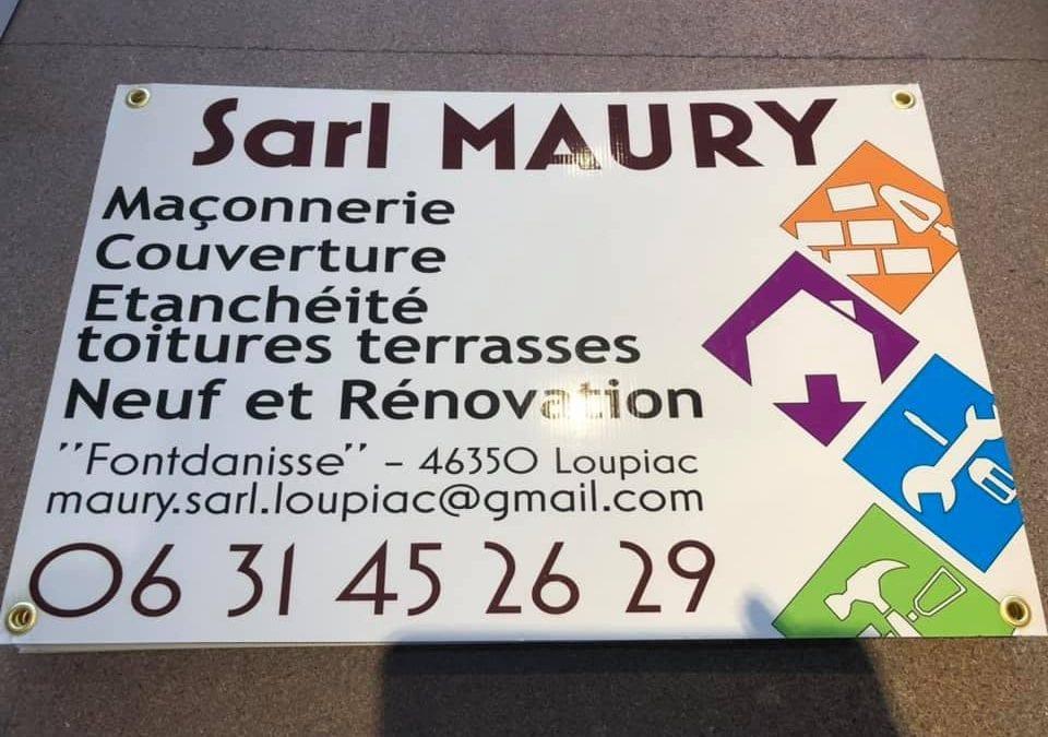 Panneau SARL Maury