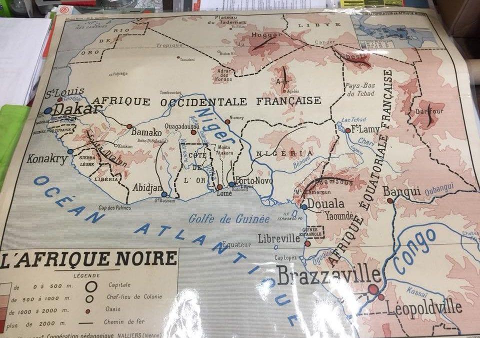 Plastification de cartes géographiques Souillac