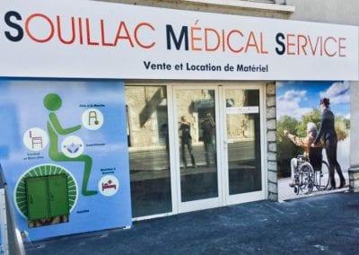 Vitrine Souillac Médical Services