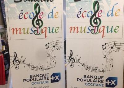 Kakémono École de Musique