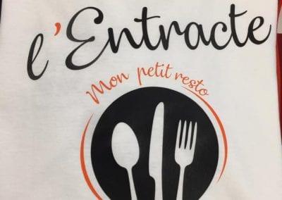 Tee Shirt Équipe Restaurant Souillac