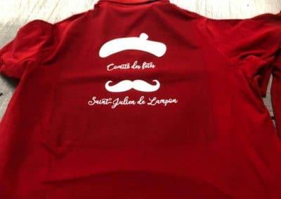 Tee Shirt Comité des fêtes