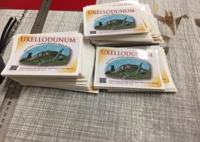 Étiquettes ou  autocollants Uxellodunum
